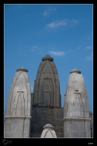 Omkar Hills | Temple Construction