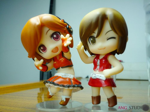 Sakine Meiko (left) and MEIKO (right)
