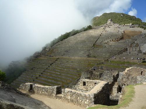 Landwirtschaftliche Terrassen von Machu Picchu