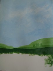"Art practice: ""Blue Sky, Green Fields"" (4 of 7)"
