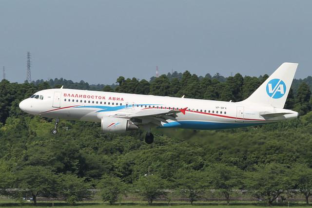 Vladivostok Air A320-200(VP-BFX)