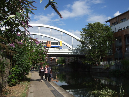 Haggerston rail bridge