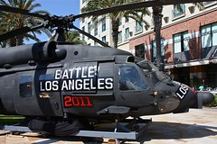 Comic-con 2010 - Battle Los Angeles Chopper
