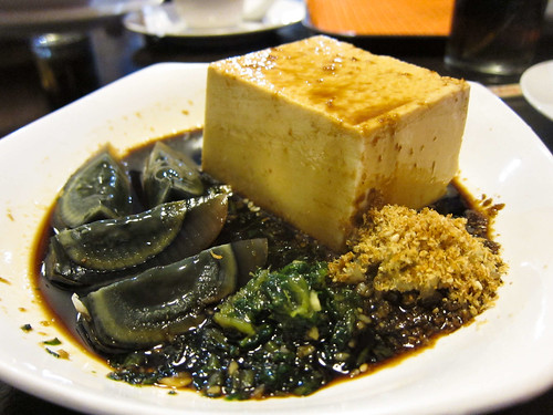 Century Egg and Tofu in Mien San