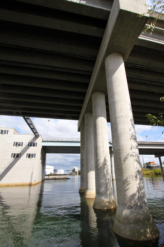 First Avenue South Bridge overpass