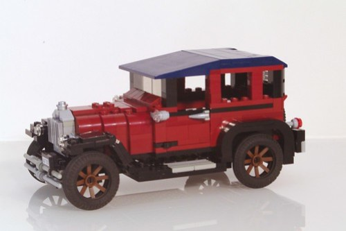 Ford Model A Town Sedan - 1927 - Brick Built