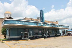 Greyhound Half Way Station by joseph a, on Flickr