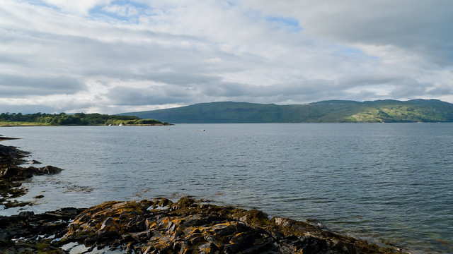 View from near Craignure on Mull