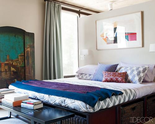 Jesse Carrier Fielden house Elle Decor bedroom2