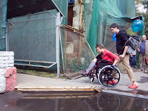 Action to support disabled=