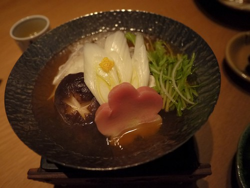 Entree 2: Puffer Fish Hotpot