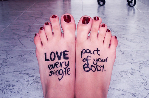 LOVE every single part of your BODY.