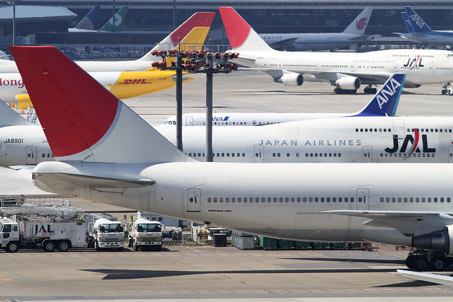 JAL B747-400D(JA8907)