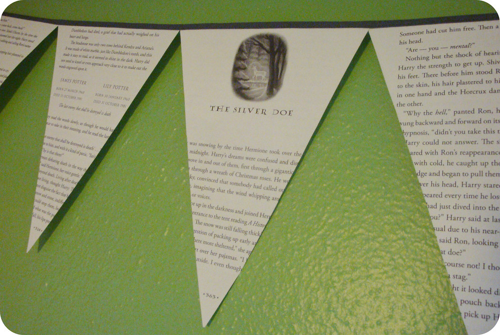 Harry Potter Bunting
