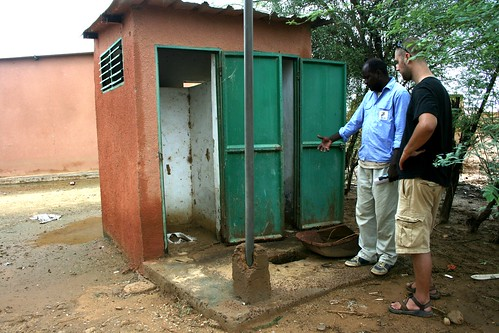 latrine project of Guia