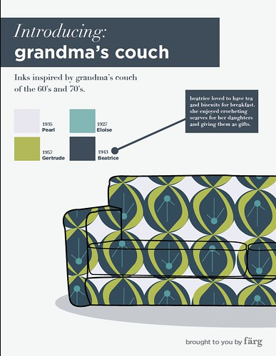 color swatch  :: grandma's couch