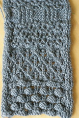 swatch for Berry & Brumble Cardigan