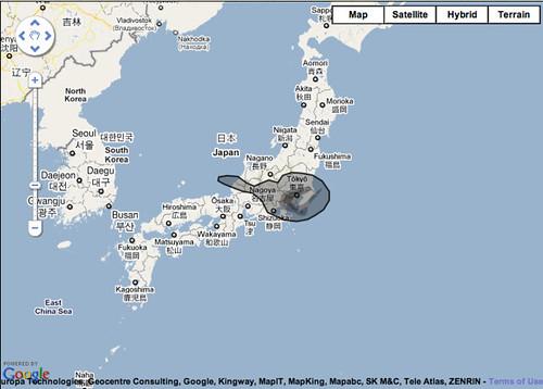 tokyo oil spill