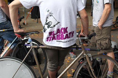 Birmingham bike polo team Black Stabbath