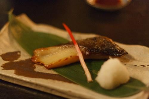 EN - Saikyo Miso Marinated Grilled Black Cod
