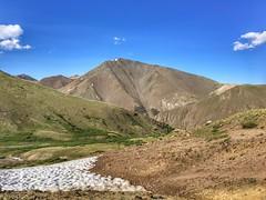 First view of San Luis Peak