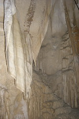 Cortina en la Cueva Ruakuri