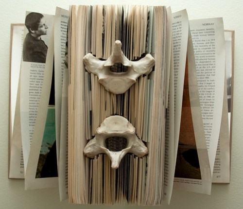 Altered book - Forgotten Knowledge