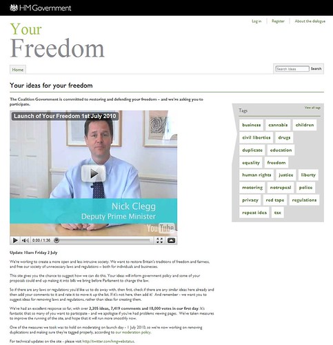Your Freedom - Your ideas for your freedom