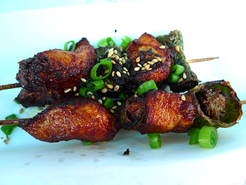 Ahn Joo Chicken Pepper Robata Skewer