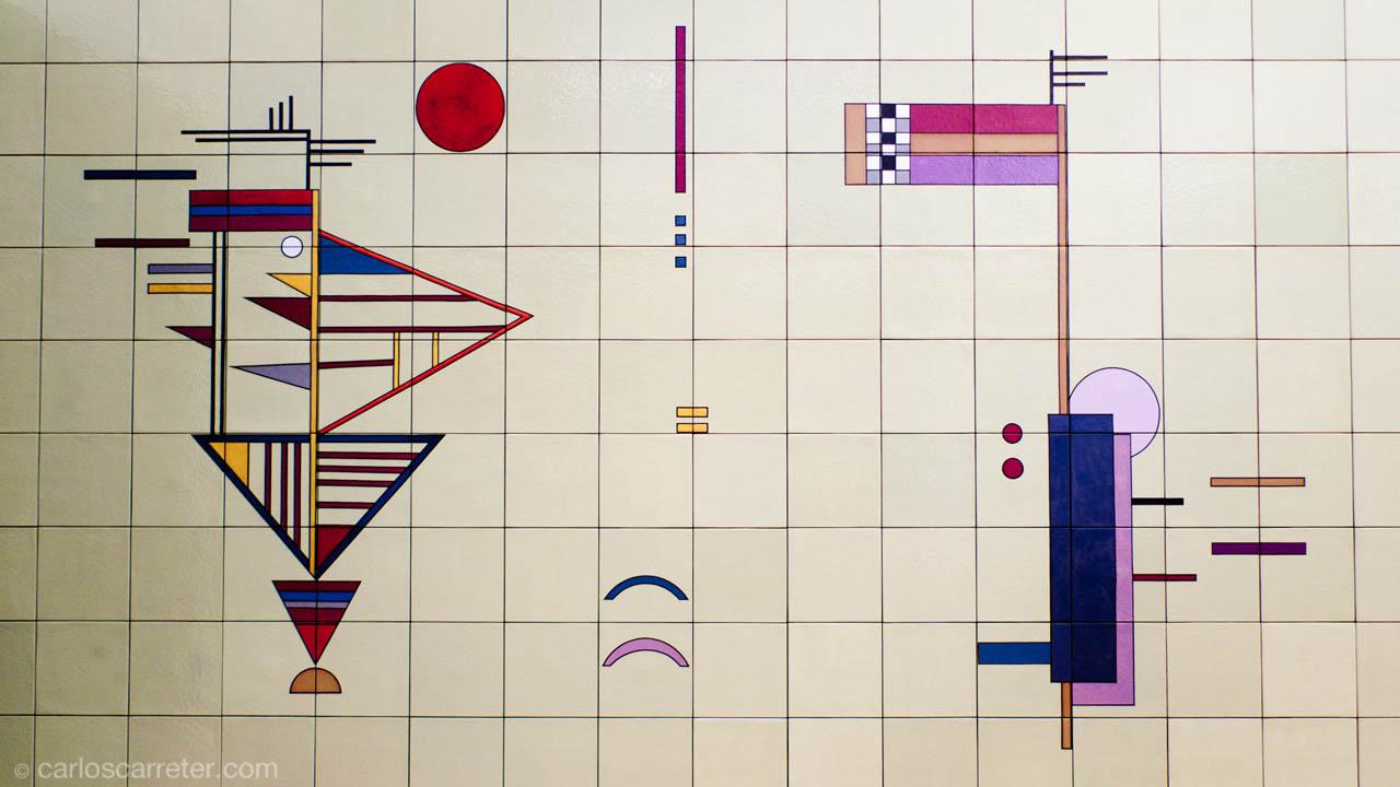 Composición de Kandinski (Museo de Arte Moderno y Contemporáneo)