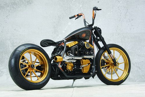 2009 - ROLAND SANDS DESIGN - Black Beauty, Modified Harley