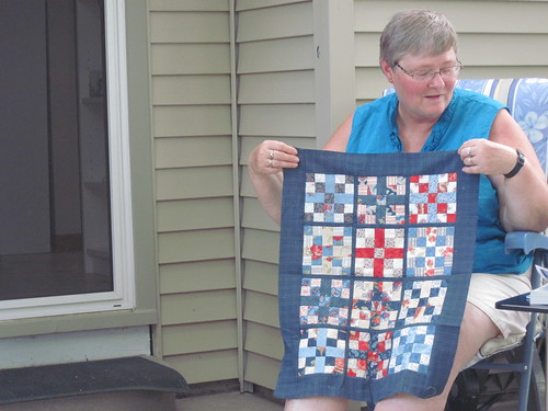 Mickey's Doll Quilt