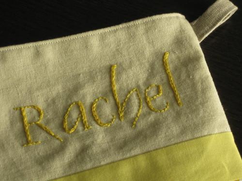 Stitching Up close