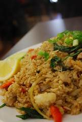 Chicken Basil Fried Rice - tall - Chilli Cafe AUD9.90