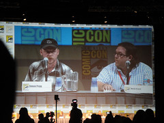 Comic-Con 2010 - Paul panel - Simon Pegg and N...