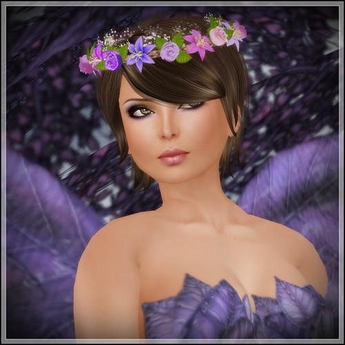 Hatpins - Branwen Wreath - Spring Flowers