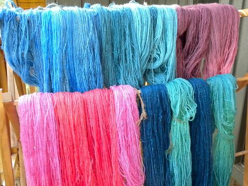 new yarns!