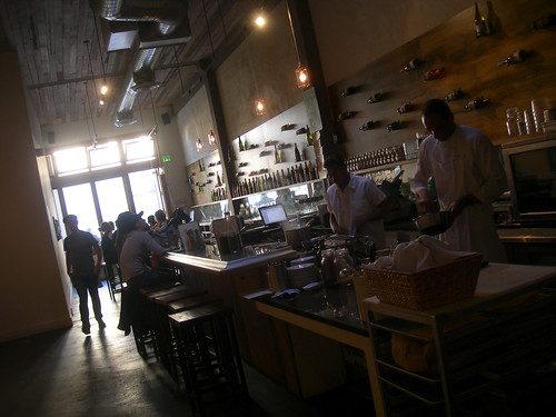 """Spaghetti Sundays"" night at Heart Wine Bar and Restaurant on Valencia St, SF"