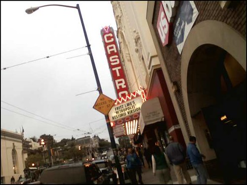 Friday night movie at the Castro Theater, newly restored version of Fritz Lang's Metropolis