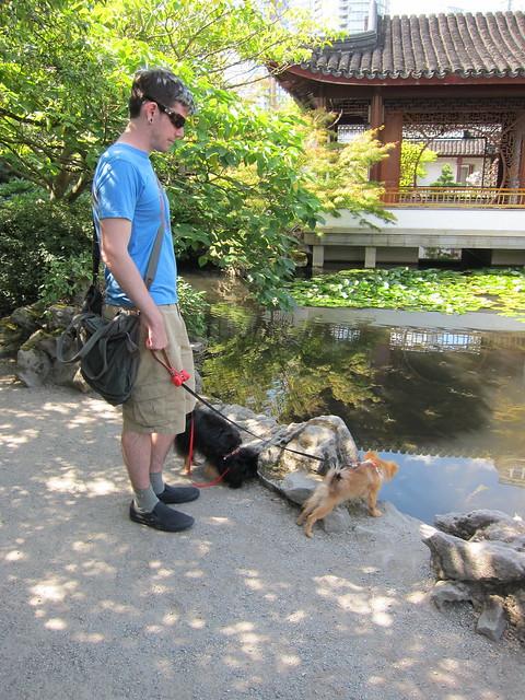 Taylor, Kichou & Georgie in Dr. Sun Yat-Sen Park