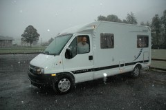 RV on the road 012