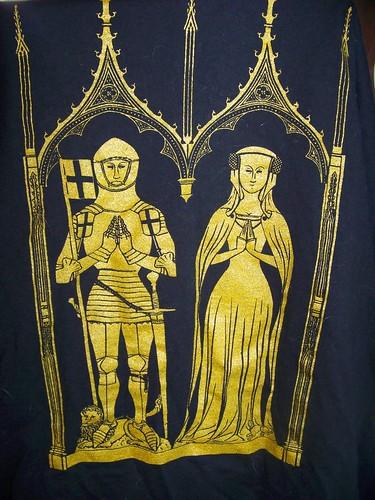 Memorial brass t-shirt