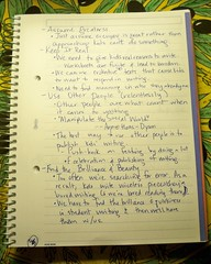 Pg. 2 of Notes from Katherine Bomer's Keynote - 070110