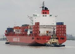 Container ship Bahia Laura