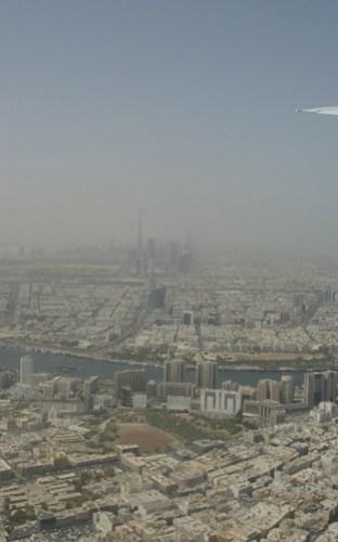Dubai from Emirates