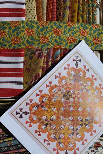 Queen's Day Quilt Kit