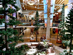 Interior at Park Meadows mall