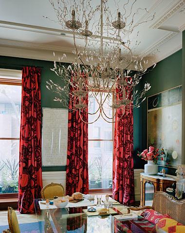 Ellen Hamilton dining room