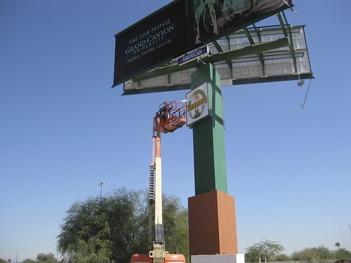 Pressure Wasing Billboard