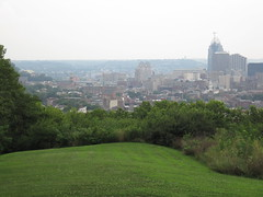 Overlooking Downtown Cincinnati, OTR, and Pendleton